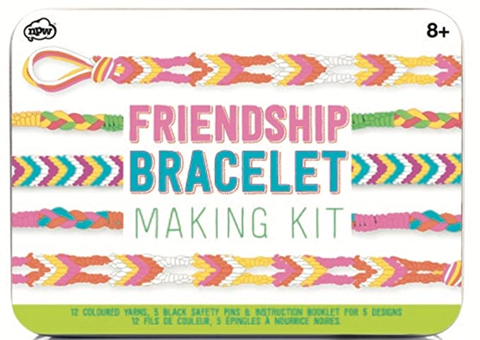 Npw Friendship Bracelet Making Craft Kit Set Amazon Toys Games