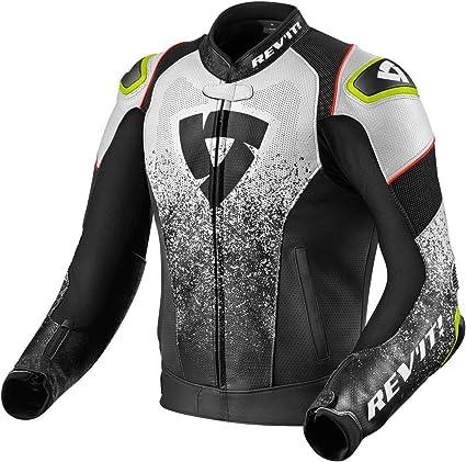 Revit Quantum Air - Chaqueta de piel para moto: Amazon.es ...