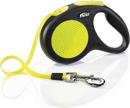 FLEXI-New-Neon-Retractable-16'-Dog-Leash-Tape