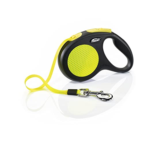 Flexi New Neon Retractable Tape Dog Leash Review