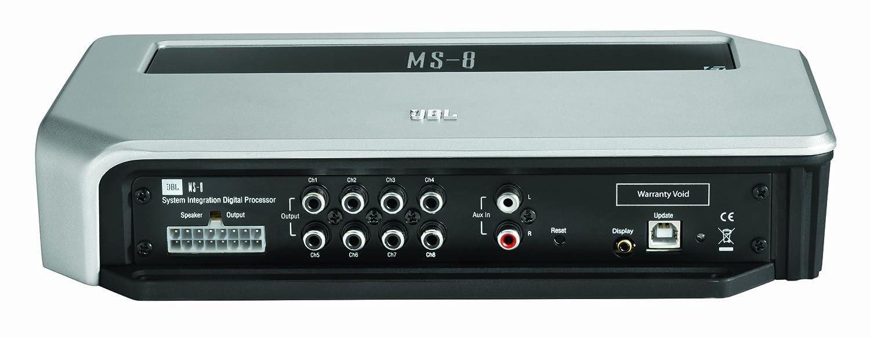 JBL MS-8 5.1 Coche Alámbrico Negro, Color blanco - Amplificador de audio (5.1 canales, 30 W, 85 dB, 30 W, 18 W, 20-20000 Hz): Amazon.es: Electrónica