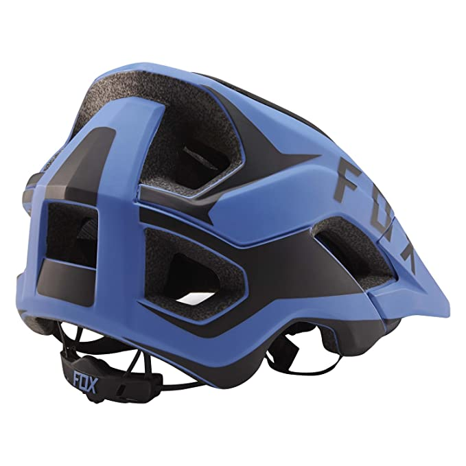 Fox Enduro - Casco para bicicleta de montaña metah Flow - Azul/Negro, azul: Amazon.es: Deportes y aire libre