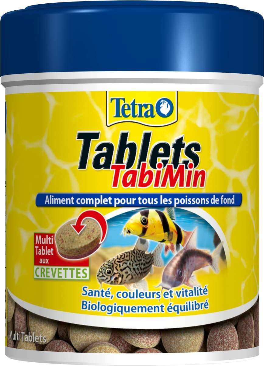 TETRA Tablets TabiMin - Aliment Complet pour Poisson de Fond - 150ml 723214