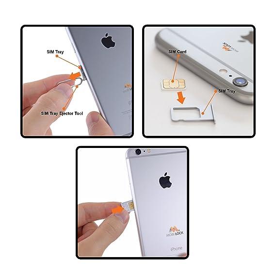 Mobi Lock Sim Karte Nadel 10er Packung Simkarte Brett Entferner Kompatibel Mit Alle Apple Iphone X 8 7 6 Plus Ipad Ipod Samsung Galaxy Note