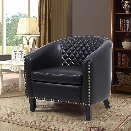 Barrel Accent Chair