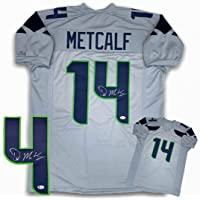 $199 » DK Metcalf Autographed Signed Jersey - Gray - Beckett Authentic