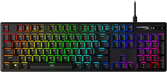 HyperX Alloy Origins RGB Mechanical Gaming Keyboard (Aqua Switch) - US Layout: Keyboards: Amazon.com.au