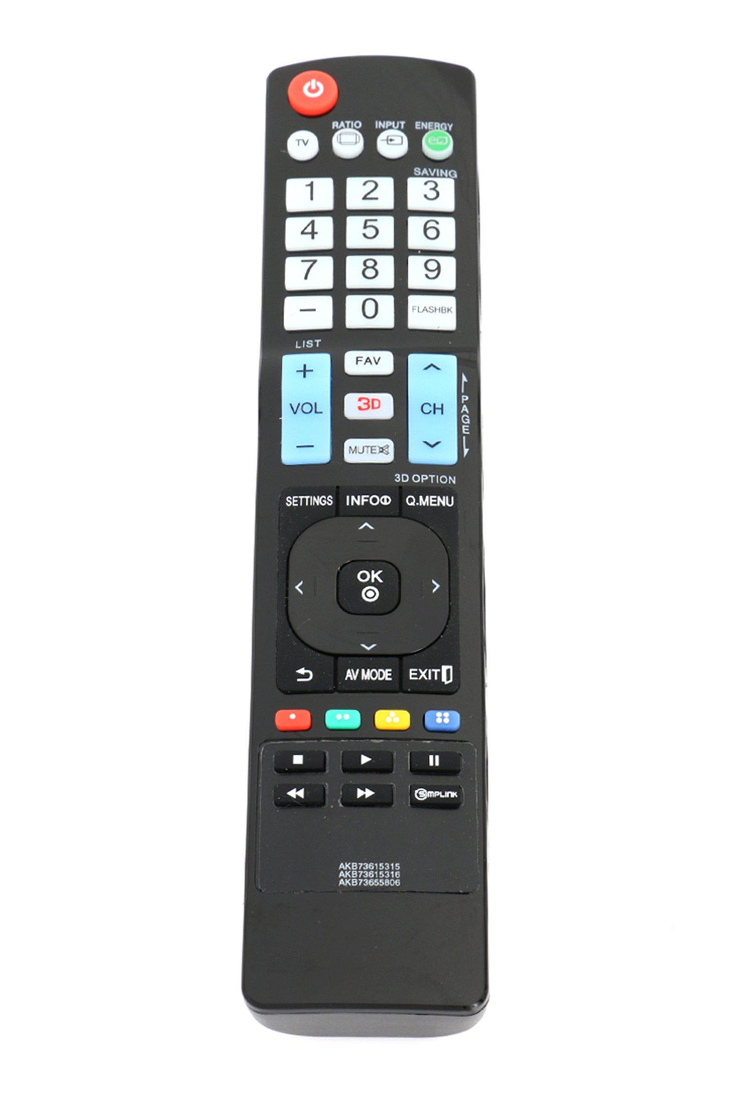 Control Remoto AKB73615315 AKB73615316 AKB73655806 LG TV ...