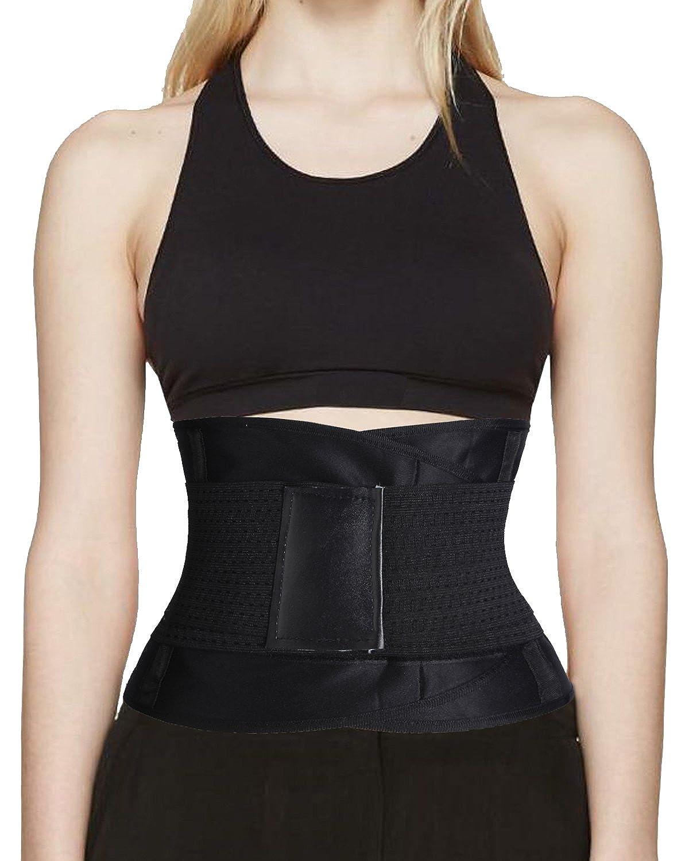 Hot Thermo Sweat Shapers Slimming Belt Sauna Waist Cincher Girdle for Weight Loss Women & Men