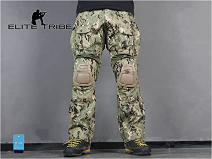 e40098323b271 Military Paintball Clothes Airsoft Hunting BDU Pants Combat Tactical Gen3  Pants with Knee Pads AOR2 (