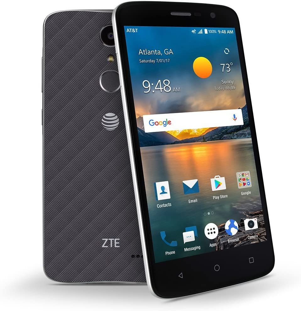 """ZTE Blade Spark 5.5"""" 4G LTE Android 7.1 Nougat Fingerprint Secured Smartphone - GSM Unlocked"""