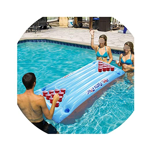 Amazon.com: Colchón de aire para fiesta de agua caliente de ...
