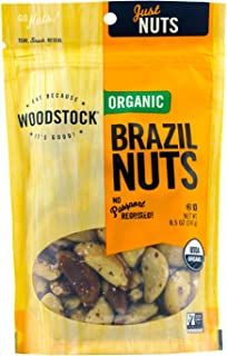 product image for Woodstock Farms Organic Brazil Nuts, 8.5 Ounce Bags (Pack of 2)