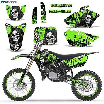 Amazoncom Yamaha YZ   Decal Graphic Kit For Dirt Bike - Decal graphics for dirt bikes