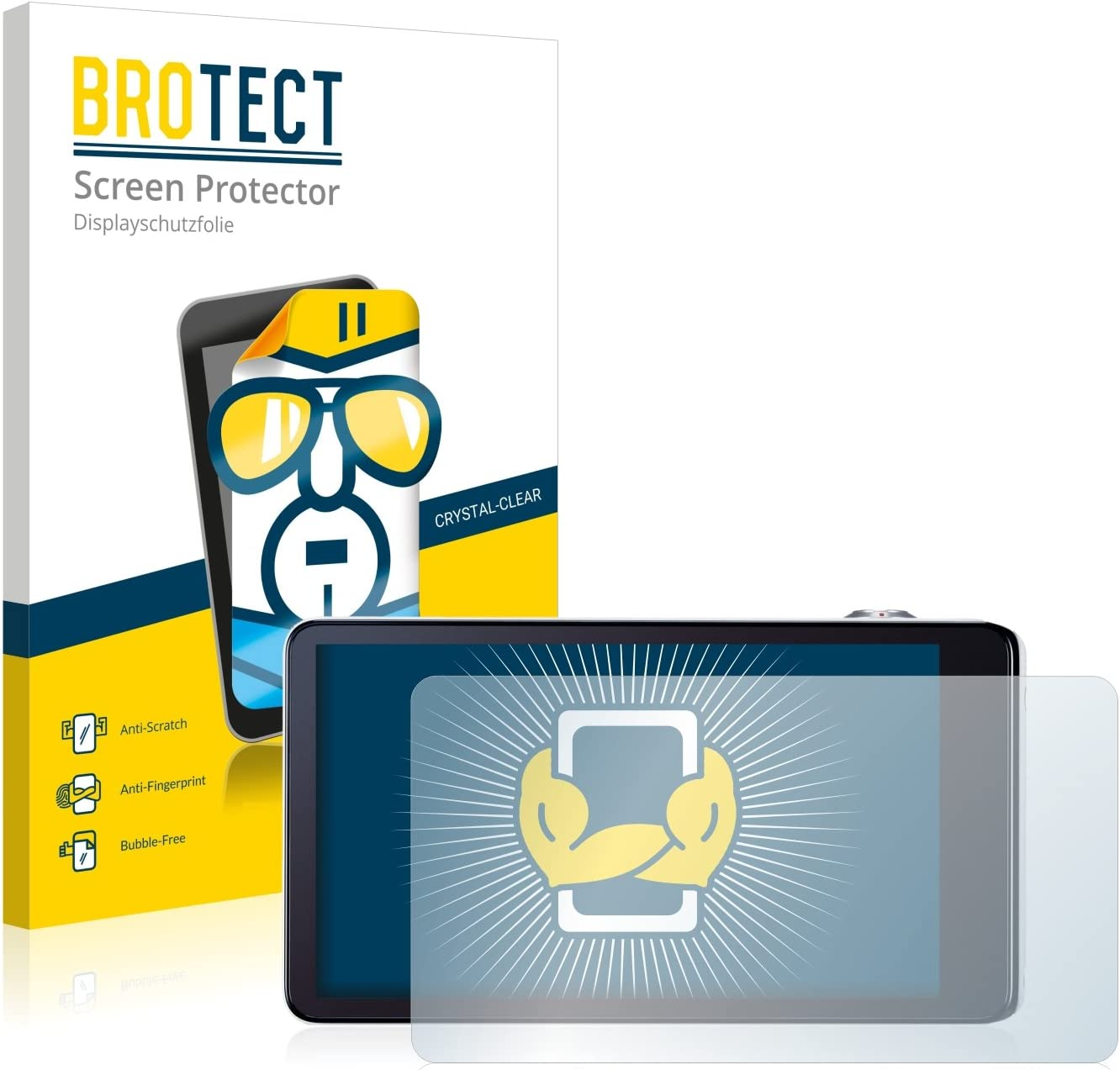 brotect 2-Pack Screen Protector compatible with Samsung Galaxy Camera EK-GC100 HD-Clear Protection Film
