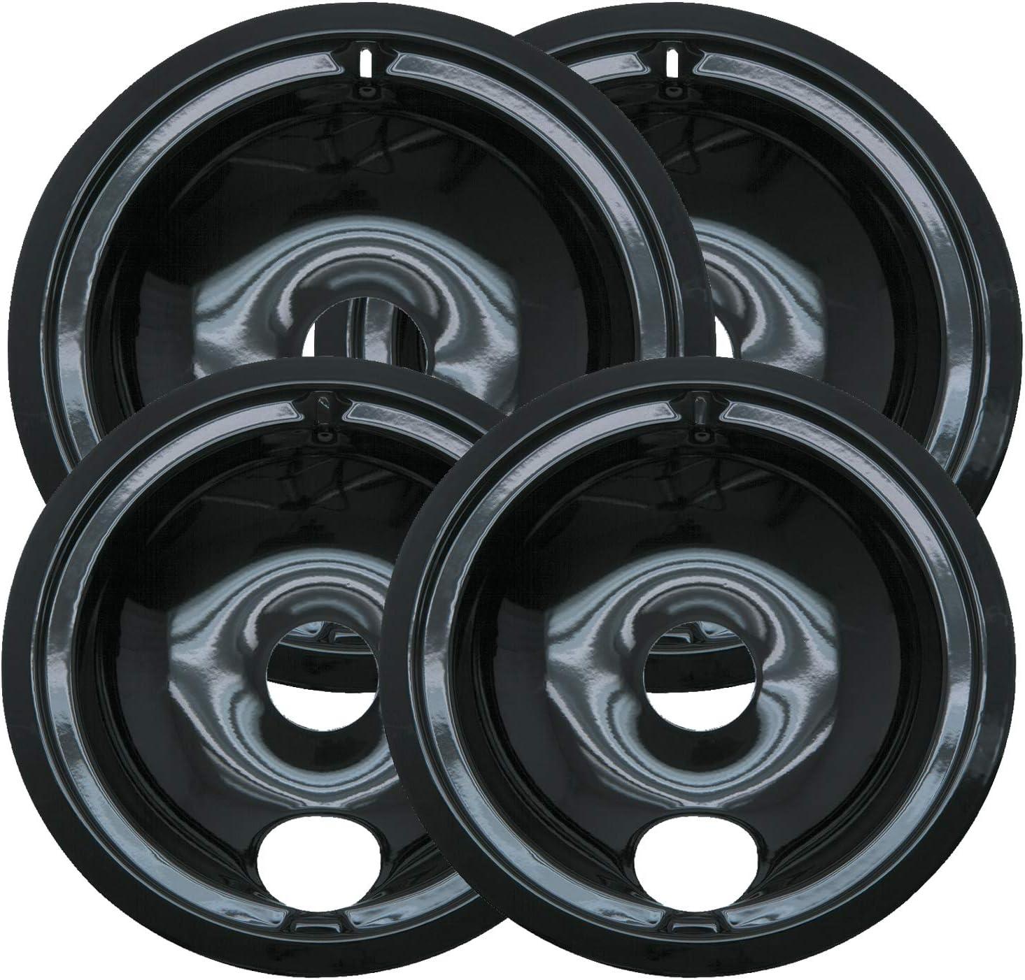 ClimaTek Range 8 Black Porcelain Burner Drip Bowl fits Sears WB32K5042 AP2028152 258110