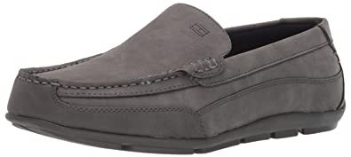 c80b1a6f258b0b Tommy Hilfiger Men s Dathan Driving Style Loafer Grey 7 ...