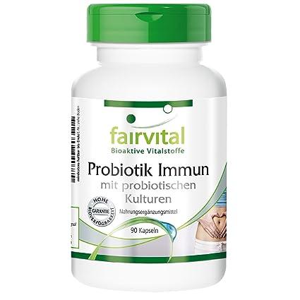 Fairvital Inmune - 90 DRcaps con cultivos probióticos - artículo vegano