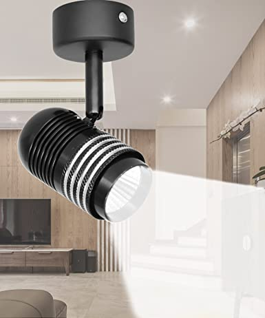 wall accent lighting. 7W LED Ceiling Spotlights Fixture Flush Mount, Rotatable Wall Downlight, Accent Lighting, 6000K Lighting