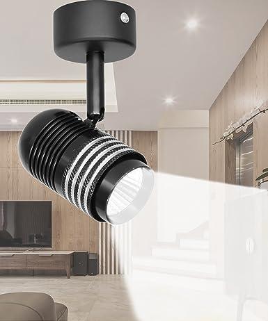 7w led ceiling spotlights fixture flush mount rotatable wall 7w led ceiling spotlights fixture flush mount rotatable wall downlight accent lighting 6000k aloadofball Gallery
