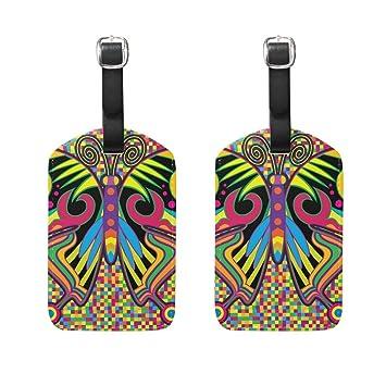 COOSUN Mariposa de Color en Estilo del Hippie Etiquetas de ...