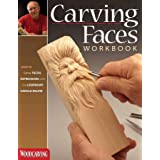 Carving Faces Workbook: Learn to Carve Facial Expressions with the Legendary Harold Enlow (Fox Chapel Publishing) Detailed Li