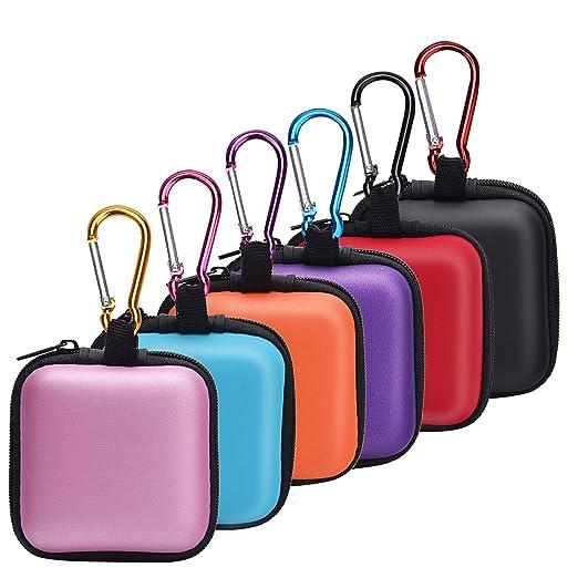 Amazon.com: SUNMNS 6 Piezas Auriculares Caso Bolsas de ...