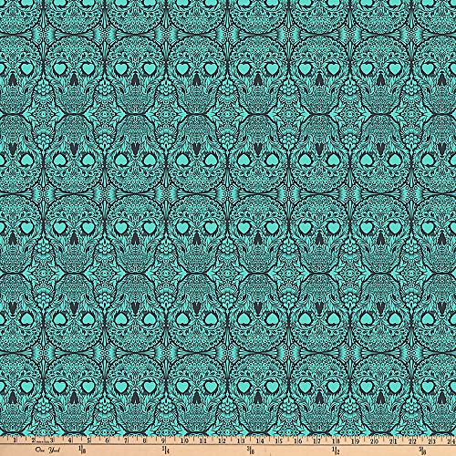 - FreeSpirit Tula Pink De La Luna Sugar Skulls Spirit Fabric by The Yard