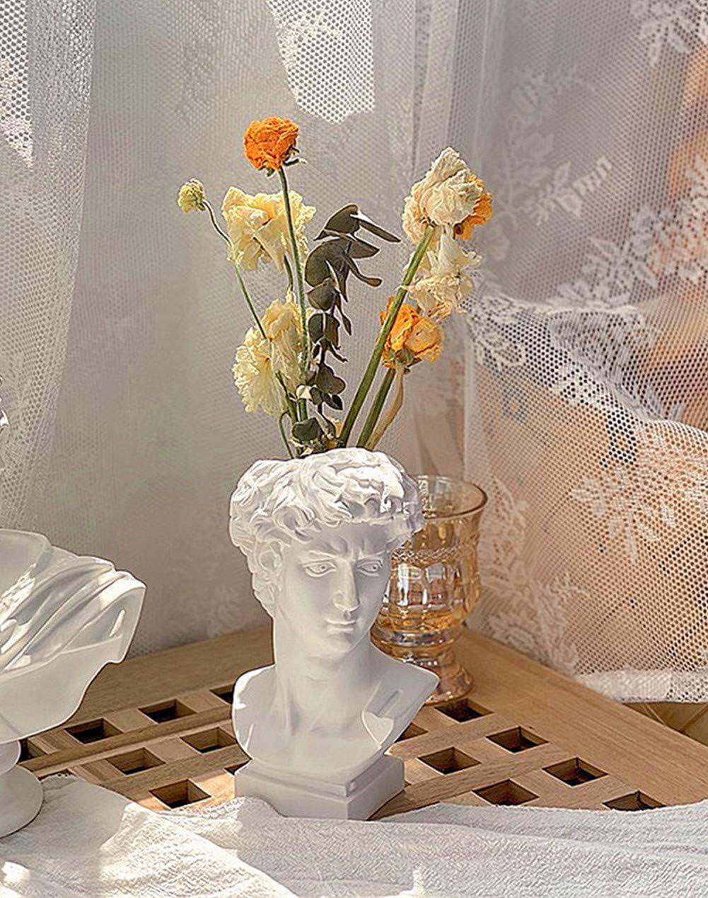Shop FunSpace Greek Roman Style Statue Flowers Vase from Amazon on Openhaus