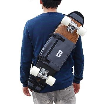 """skate-home Bandolera Porta Skateboard 26 Y 27"""" Gris. MONARK Supply Idea DE"""