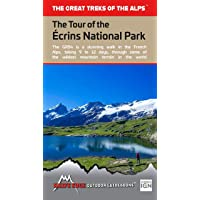 Tour of the Ecrins National Park (GR54): Real IGN Maps 1:25,000 - no need to carry separate maps
