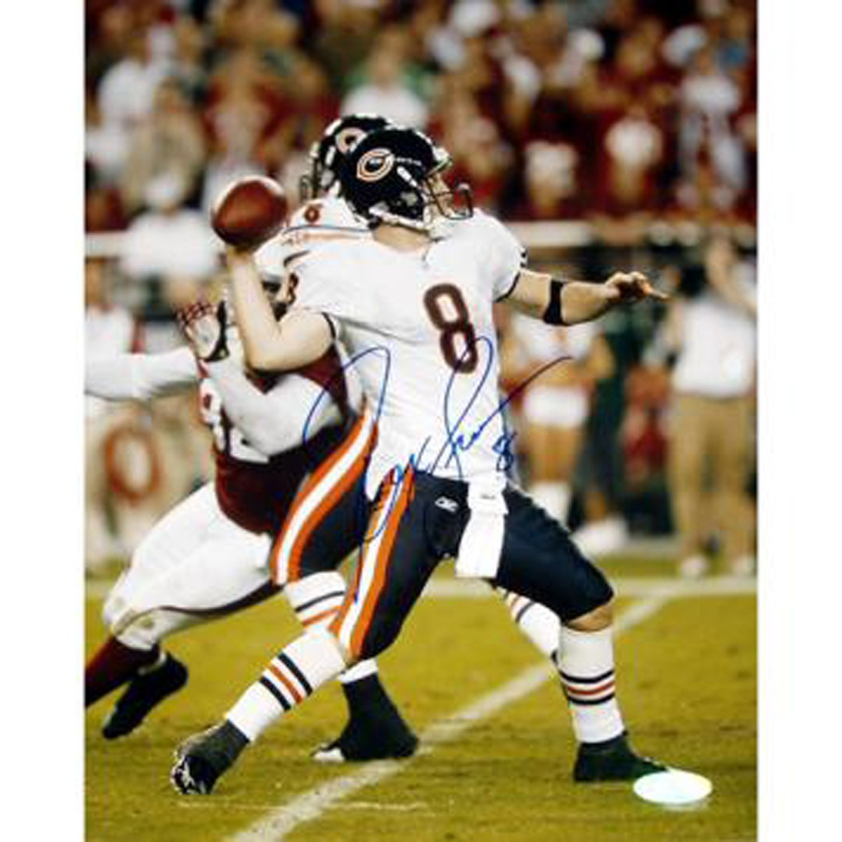 NFL Chicago Throw Bears Rex Grossman Throw vs.アリゾナ写真、8 x Chicago x 10-inch B00EWPKNC4, ゆめの工房:85ff6c12 --- harrow-unison.org.uk
