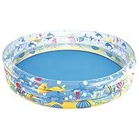 Bestway 51004 Kids' Play Pool - Kids' Play Pools (Estampado, Multicolor, Vinilo, 1410 x 1410 mm, Bolsa de Polietileno con encarte)