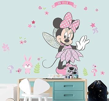 Dekoration Kleinaufbewahrung Wandtattoo Kinderzimmer Minnie Mouse Micky Maus Wandsticker Xxl Disney Madchen Mobel Wohnen Blog Vr Com Br