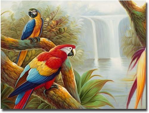 Amazon Waterfall Canvas Wall Art
