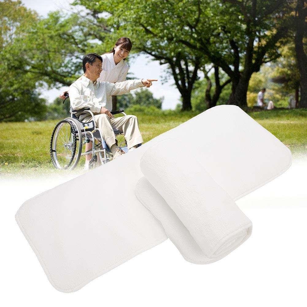 Grey Adecuado para Hombres Mujeres Adolescentes Ajustado pa/ñal de pa/ñal Reutilizable y Ropa Interior Protectora de Cuidado de incontinencia Yotown Adultos pa/ñales de Tela