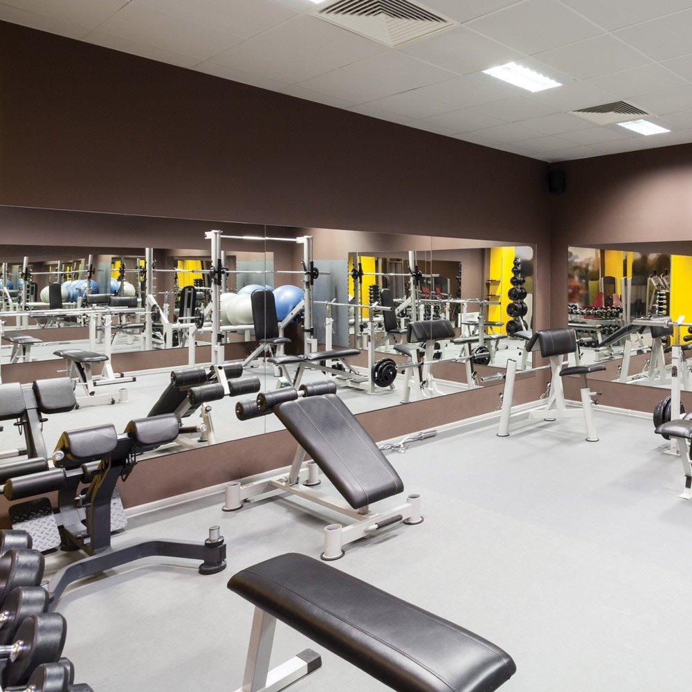 Amazon inch rectangle mirasafe gym mirror kit