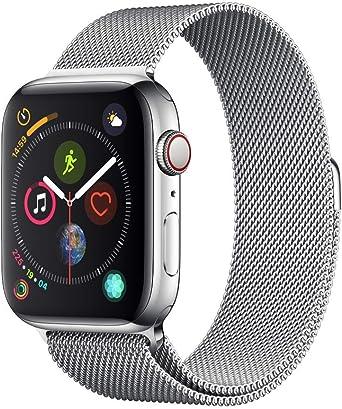 AppleWatch Series4(GPS+Cellularモデル)- 44mmステンレススチールケースとミラネーゼループ