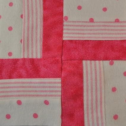 Amazon com: Flannel Baby Girl Quilt Kit, 40