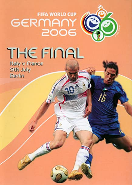 Amazon.com: FIFA World Cup Germany 2006 Final Match - Italy vs France:  Zinedine Zidane, None: Movies & TV