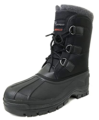 50a271bce66 Amazon.com | Alpine Mens Winter Snow Boot Heavy Duty Water Resistant ...