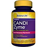 Renew Life - CandiZyme - Yeast Balance Formula - digestive support -  intestinal balance - 90 vegetable capsules