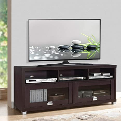 Amazon.com: Wood Home Classic TV Stand Home Entertainment ...