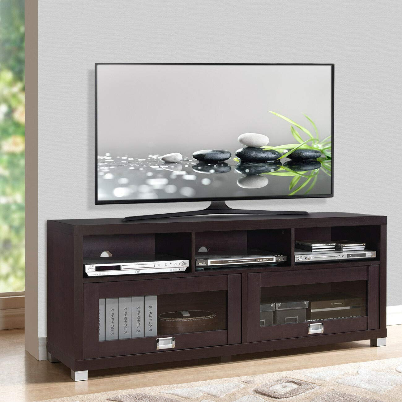 Wood Home Classic TV Stand Home Entertainment Media