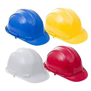 ProForce Premium - Casco de protección casco de seguridad para construcción constructores de Bump Cap Trabajo sitio, blanco: Amazon.es: Bricolaje y ...