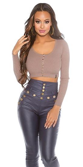 In-Stylefashion - Pull - Femme marron marron foncé taille unique - marron -  taille 623c8e2240f9