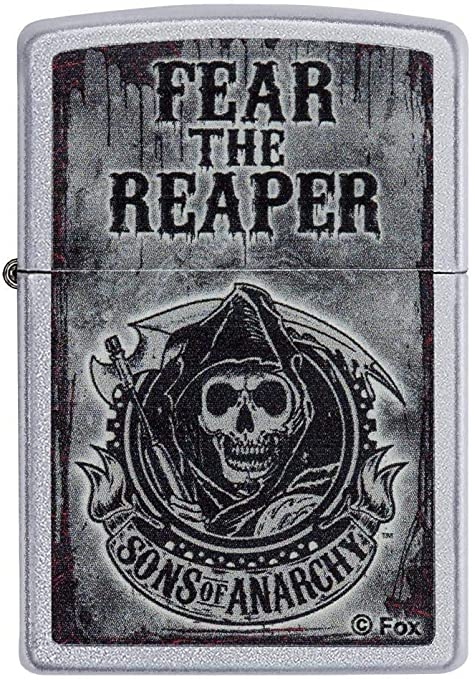 Zippo Sons of Anarchy - Encendedor de cocina (Negro, Cromo): Zippo ...