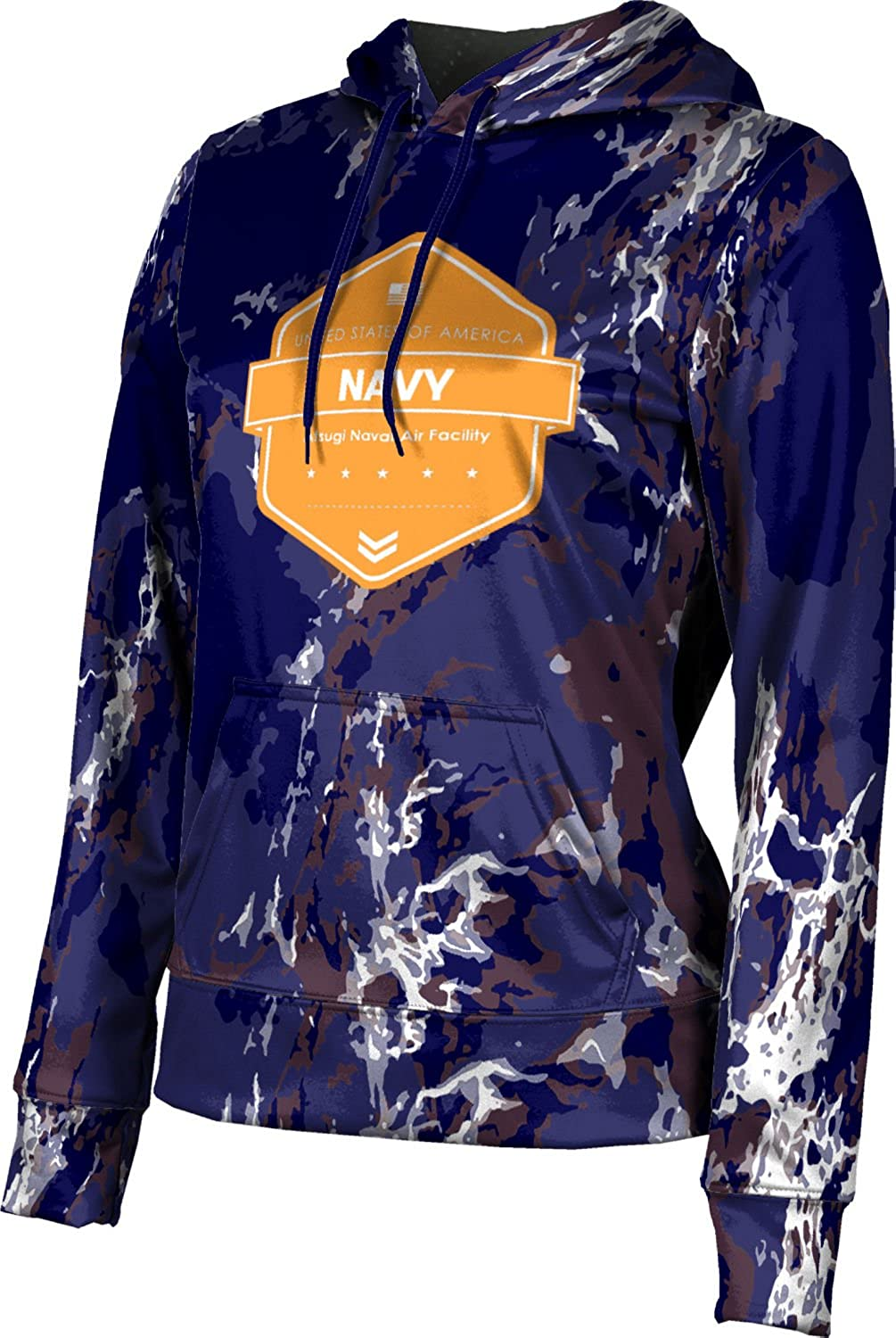 ProSphere Women's Atsugi Naval Air Facility Military Marble Pullover Hoodie