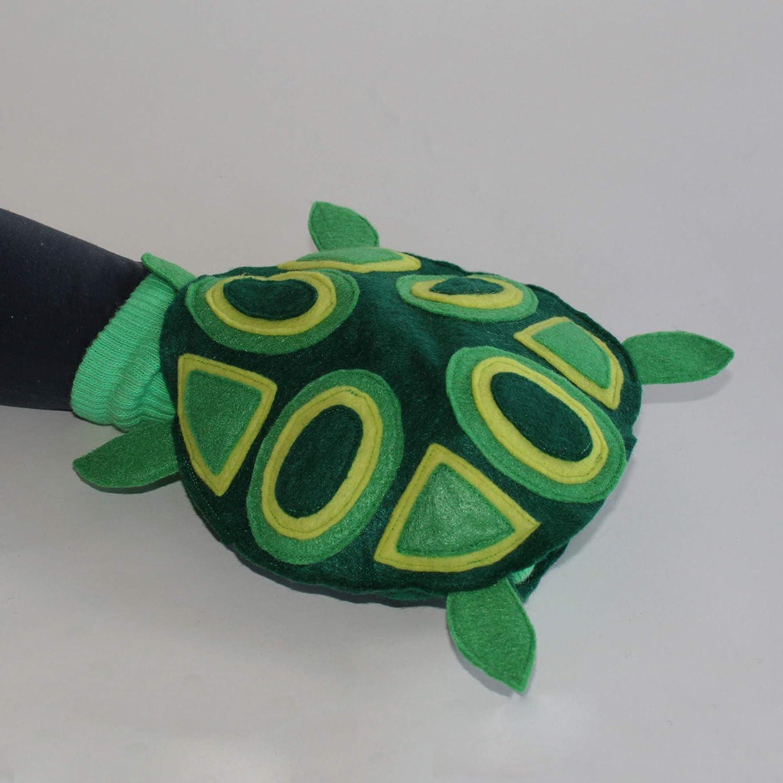 100/% Handmade Couture Turtle Sockett/® Sock Puppet