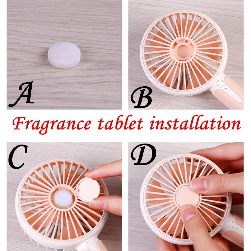 JiaMeng Ventilador Lindo Protable USB Mini Ventilador ...